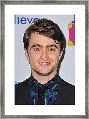 Daniel Radcliffe At Arrivals For Only Framed Print