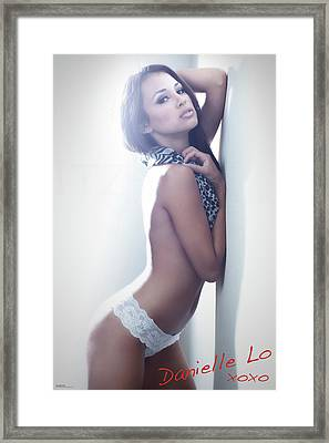 #danielle Framed Print by ItzKirb Photography