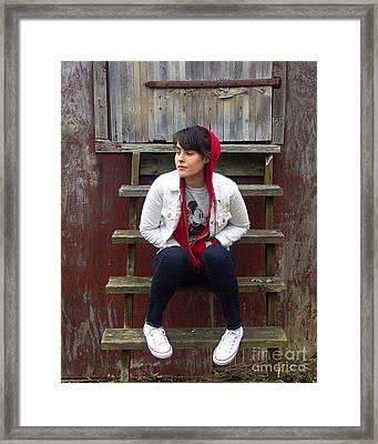 Danielle Framed Print