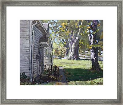 Daniel's House In Bloomington Mn Framed Print