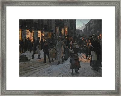Danish Christmas Time Framed Print