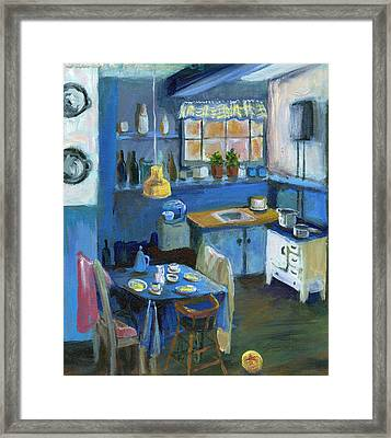 Danish Kitchen Framed Print