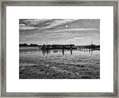 Danish Waters Framed Print