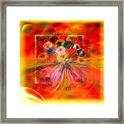 Danke Schoen Framed Print by Eva Borowski