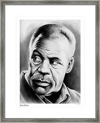 Danny Glover Framed Print