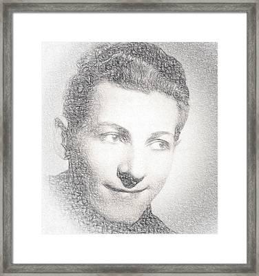 Danny Kaye Framed Print by EricaMaxine  Price