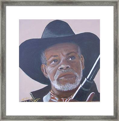 Danny Framed Print by KC Knight