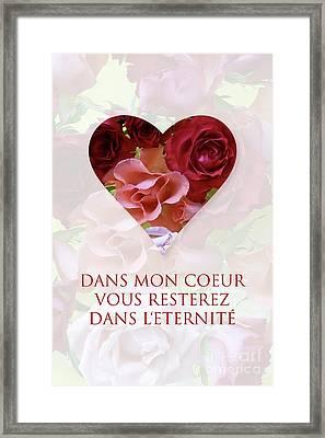 Yes Valentine Gift M15 Framed Print