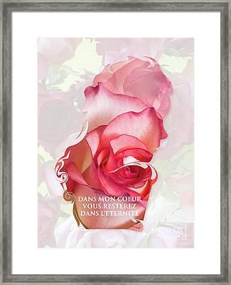 Yes Valentine Gift M1 Framed Print
