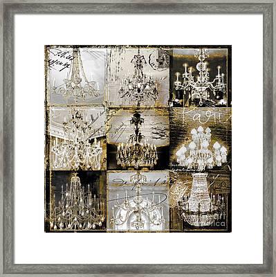 Danse Paree Framed Print