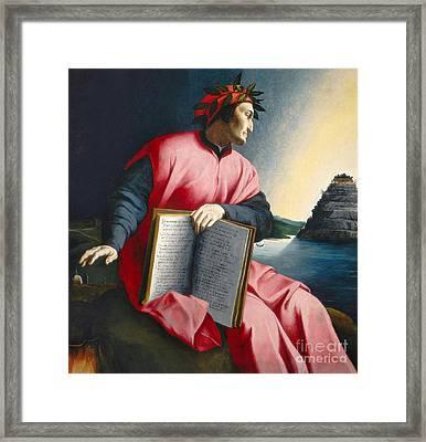 Dante Framed Print by Florentine School