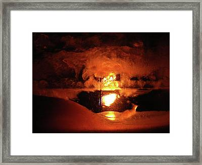 Dante's Inferno Photos Thirty One Caverns And Lake Framed Print