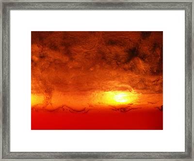 Dante's Inferno Photos Twelve Framed Print