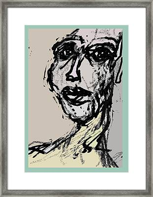 Dante's Peak Framed Print by Noredin Morgan