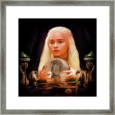 Dany Framed Print