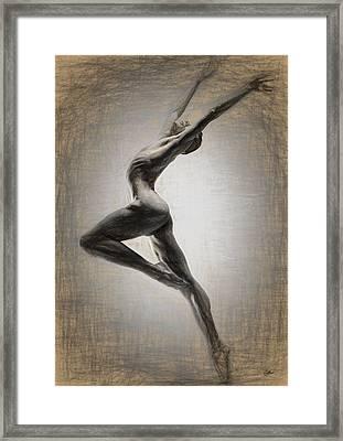 Danza Apasionada Framed Print by Joaquin Abella