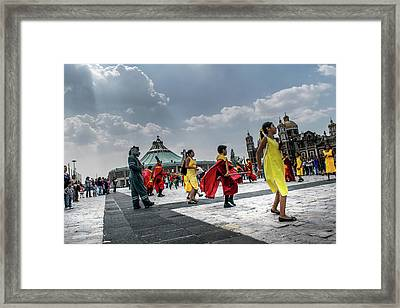 Danza Basilica De Guadalupe - Mexico I Framed Print