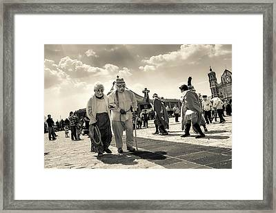 Danza Basilica De Guadalupe - Mexico II Framed Print