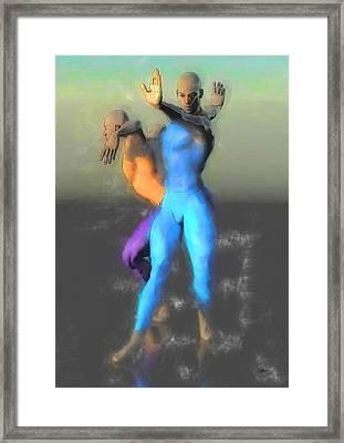 Danza De La Noche Framed Print by Quim Abella