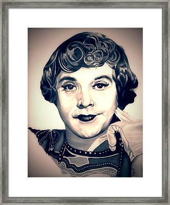 Daphne Framed Print by Fred Larucci