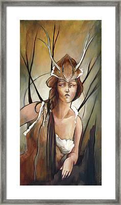 Daphne Framed Print by Jacque Hudson