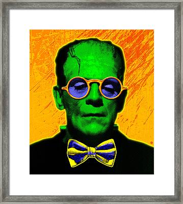 Dapper Monster Framed Print by Gary Grayson