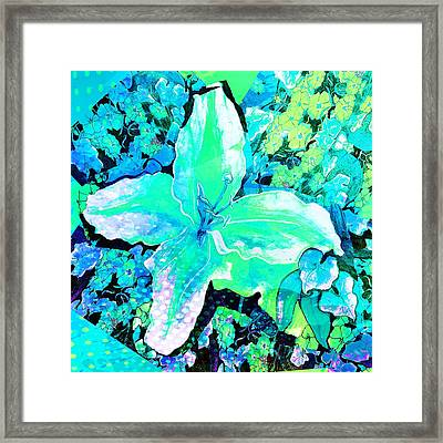 Dappled Light Framed Print by Caroline Evans