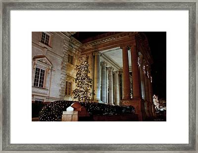 Dar Memorial Continental Hall Framed Print by Suzanne Stout