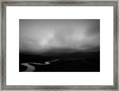 Darby River Framed Print by Mihai Florea