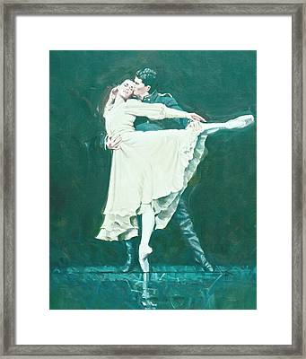 Darcey Bussell Farewell Winter Dreams Framed Print by Charles Willmott