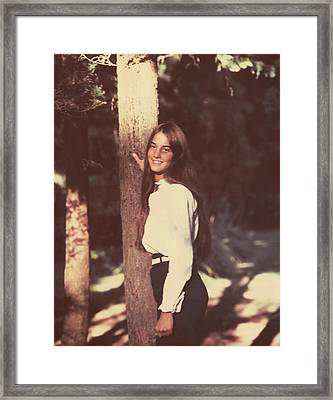 Darcey Tree Framed Print by Arthur Fix