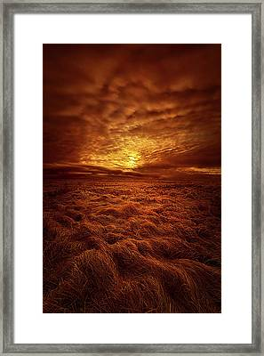 Framed Print featuring the photograph Dare I Hope by Phil Koch