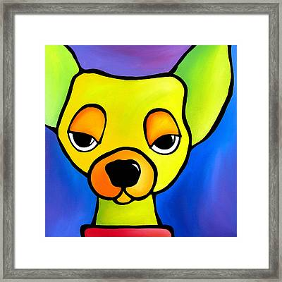Dare Me Framed Print by Tom Fedro - Fidostudio