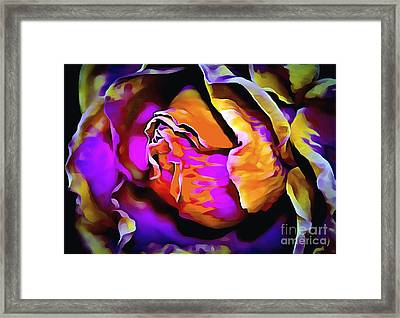Dare To Be Different Framed Print by Krissy Katsimbras