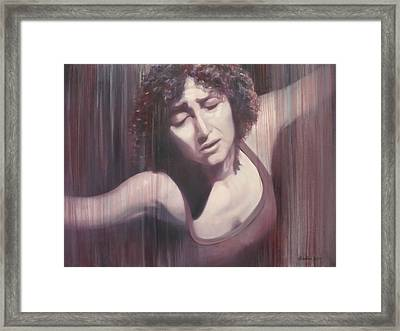 Dare To Dance Framed Print