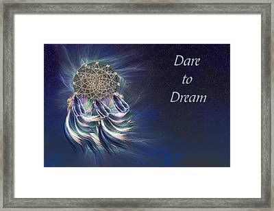 Dare To Dream Framed Print by Carol and Mike Werner