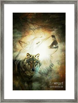 Dare To Dream Framed Print by Maria Urso