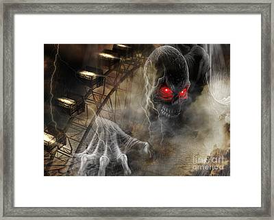 Dare To Ride Framed Print