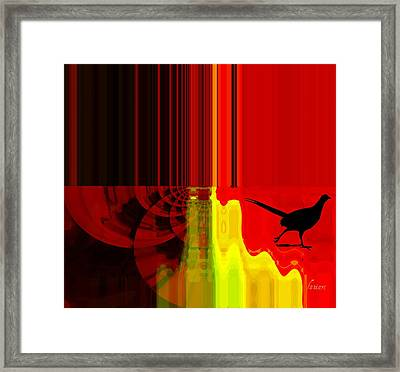Dare To Trust And Love Framed Print by Fana Simon