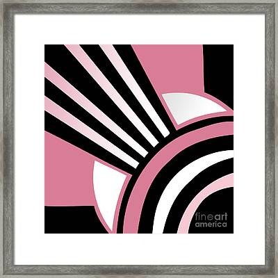 Daring Deco I Framed Print by Mindy Sommers