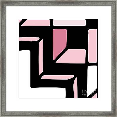 Daring Deco II Framed Print by Mindy Sommers