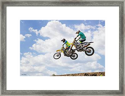 Daring Duo Framed Print