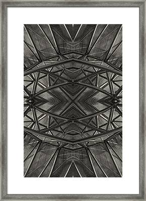 Dark Abstract Framed Print by Robert Ullmann