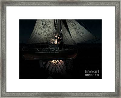 Dark Adventure Framed Print by Jorgo Photography - Wall Art Gallery