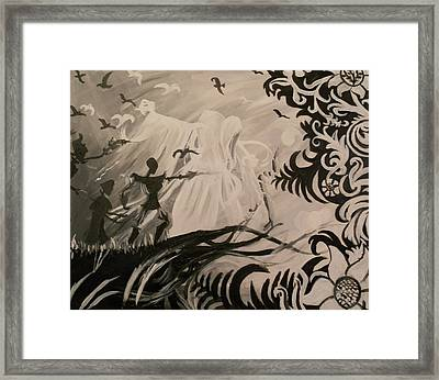 Dark And Light Framed Print