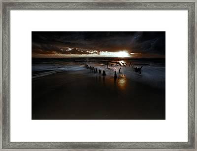 Dark And Moody Framed Print by Mel Brackstone