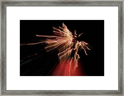Dark Angel Framed Print by Lisa Knechtel