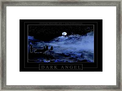 Dark Angel Framed Print by Todd Krasovetz