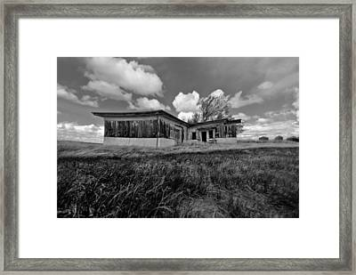 Dark Angle Framed Print by Starlux Productions