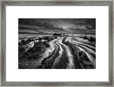 Dark Barrika Framed Print by Antonio Carrillo Lopez